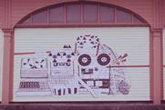 Spaceboy: animation on shutters