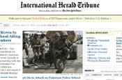 IHT: merged websites with The New York Times