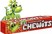 Chewits: Chewie the Chewitsaurus gets makeover