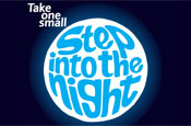 Step into the night: logo created by Start Creative