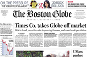 Boston Globe: NY Times Company cancels sale