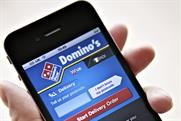 Domino's Pizza:took more than £1m a week from orders via mobile transactions