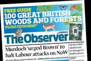 The Observer: circulation falls below 300,000