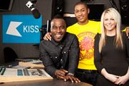 Kiss: breakfast show presenters Rickie, Melvin and Charlie