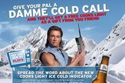 Coors Light: rolls out Van Damme activity