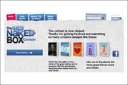 Durex: Naked Box website