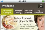 Waitrose: Delia on tap
