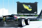 In game outdoor advertising