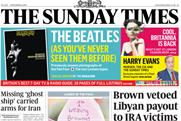 The Sunday Times: 1.17% circulation loss in September