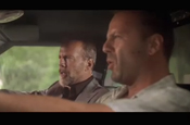 Ringo Starr and Bruce Willis in Aviva ad