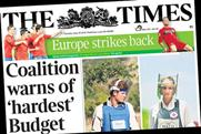 The Times: The hardest budget