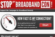 Stop the Broadband Con: Virgin Media website