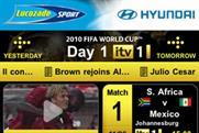 ITV's World Cup app