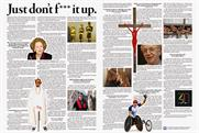 Channel 4: ran ad campaign for 30th anniversary in broadsheets last year