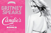 Spears: in new Candie's ad campaign