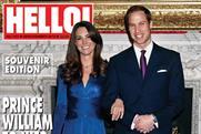 Hello! magazine's royal engagement souvenir edition