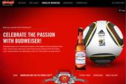 Budweiser: top World Cup online sponsorship brand