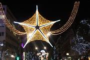 Piggotts illuminates Oxford Street with 600,000 Christmas lights