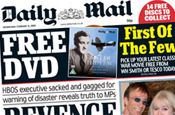 Daily Mail: shrinking digital revenues