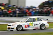 eBay: sponsoring touring car team
