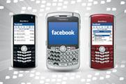 Blackberry has launched an app store as research shows more consumers access social networks via mobile devices