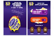 Creme Egg: enters our app chart at number five