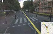 Google Street View: must blur McCartney's home