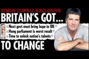 The Sun: Cowell offers political advice