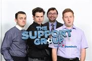 The Support Group: Domino's unveils online football-themed sitcom