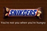 Snickers: latest promotion stunt focuses on poor spellers
