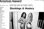 American Apparel: site is slammed by ASA