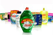 P&G spent just under £203m on advertising in 2007