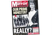 The Daily Mirror: Cameron as Prime Minister?