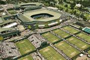 Wimbledon: offers unique branding opportunity