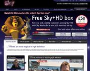 Sky: banners, posters, direct mail...