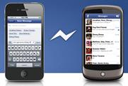 Faceook Messenger: app takes top spot in BR's chart