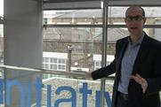Alex Altman: the chief executive of Initiative shows Media Week around the offices