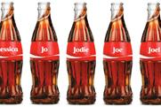 Coca-Cola: personalised bottles