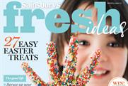 Sainsbury's: relaunches Fresh Ideas magazine