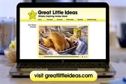 Premier Foods: shifts focus of Great Little Ideas campaign