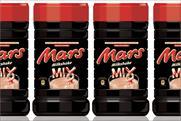 Mars: launches milkshake mix in the UK