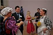 ISES Christmas party at 33 Fitzroy Square: pictures