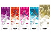 Anti-counterfeit features for Olympic tickets
