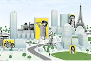 Aviva: campaign to project customers' pictures on buildings