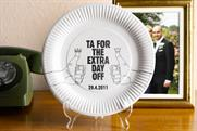 John Smiths: offers Royal Wedding commemorative paper plate