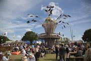 Whynot created an eye-catching activation for Strongbow at the Parklife and Isle of Wight festivals