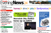 Norwich Evening News: mobile site