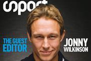 Jonny Wilkinson: guest editing Six Nations edition of Sport