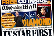 Mail on Sunday: free CD contributed to strong sales