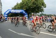 Triathletes in Hamburg